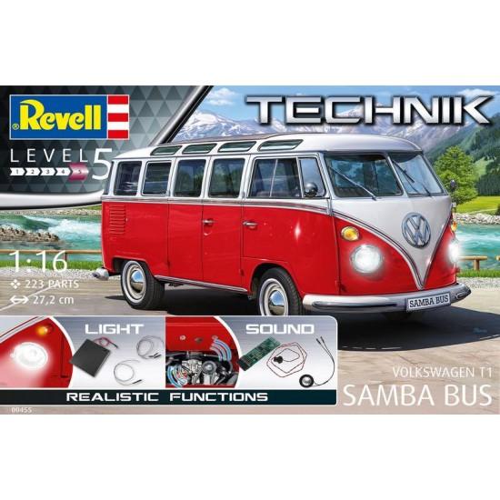 1-16 Wolkswagen t1 Samba bus technik edition Auto , Bus e Furgoni RC00455