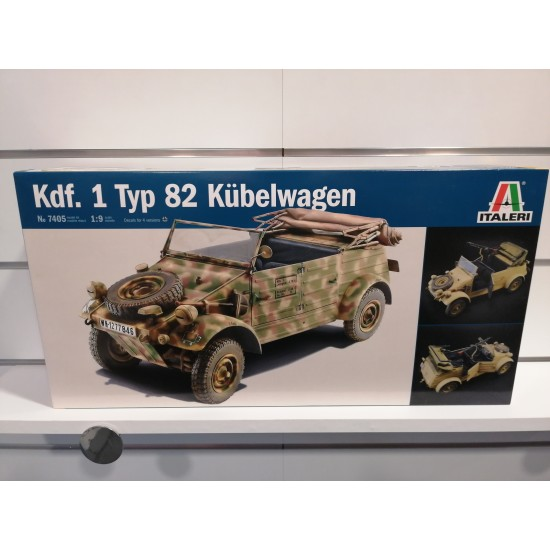 Kdf 1 Typ 82 Kübelwagen kit di montaggio 1-9 Veicoli militari IT7405