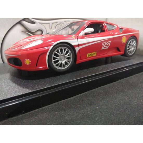 Hot weels Ferrari 430 Challenge rossa 1-18 Diecast MAT20